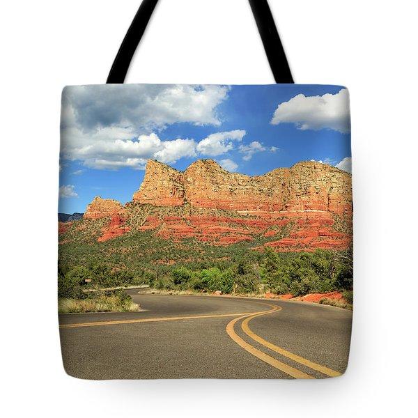 The Road To Sedona Tote Bag