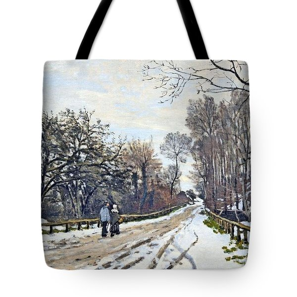 The Road To The Farm Of St. Simeon Tote Bag