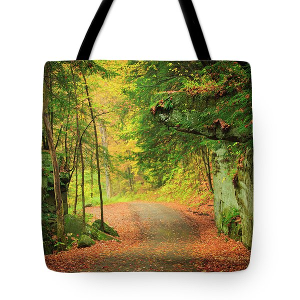 The Road To The Mill  Tote Bag