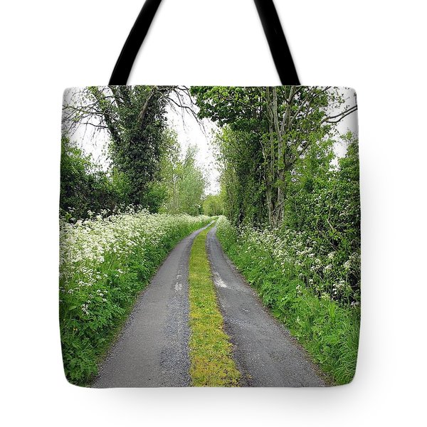 The Road To The Wood Tote Bag