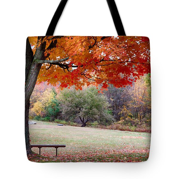 Tote Bag featuring the photograph The Robert Frost Farm by Jeff Folger