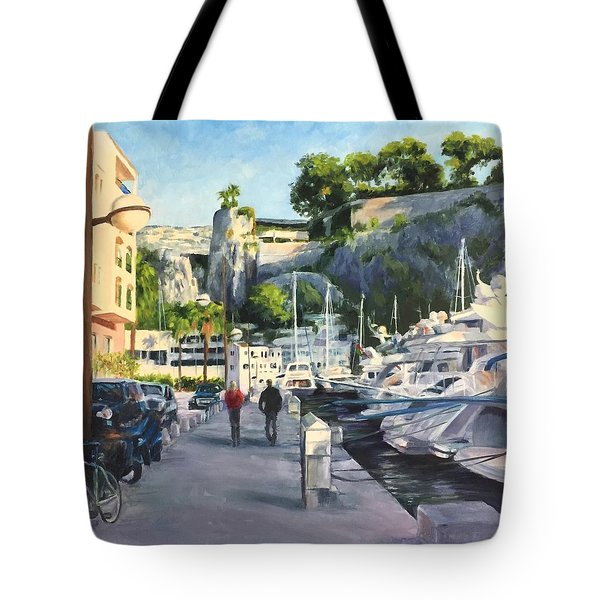 The Rock Ahead Tote Bag