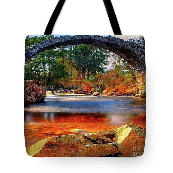The Rock Bridge Tote Bag