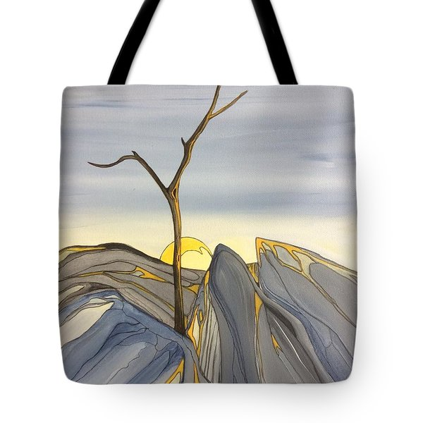 The Rock Garden Tote Bag by Pat Purdy