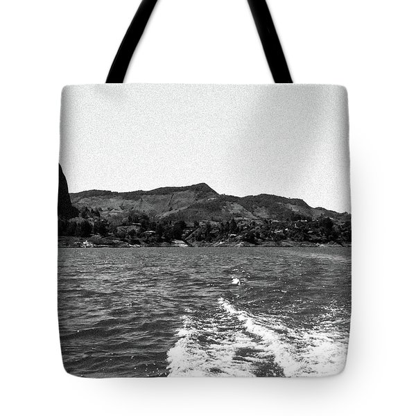 The Rock Of Guatape Tote Bag