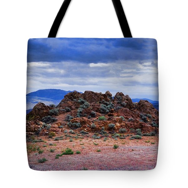 The Rock Stops Here Tote Bag
