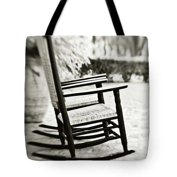 The Rocker - Sepia Tote Bag
