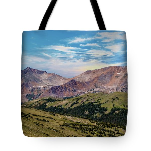 Tote Bag featuring the photograph The Rockies by Bill Gallagher