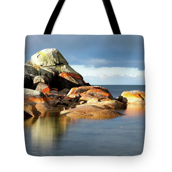 The Rocks And The Water Tote Bag