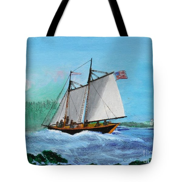 The Cliffs At Baccalieu Tote Bag