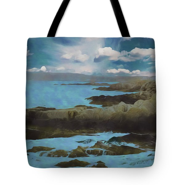 The Rocky Maine Coast. Tote Bag