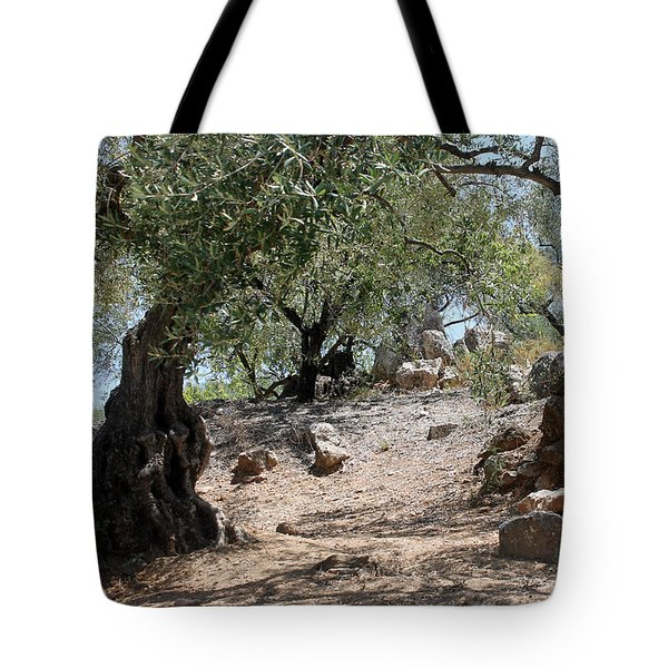 The Rocky Path Tote Bag