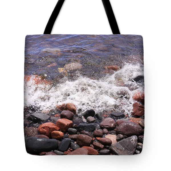 The Rocky Shore Tote Bag by Kate Purdy