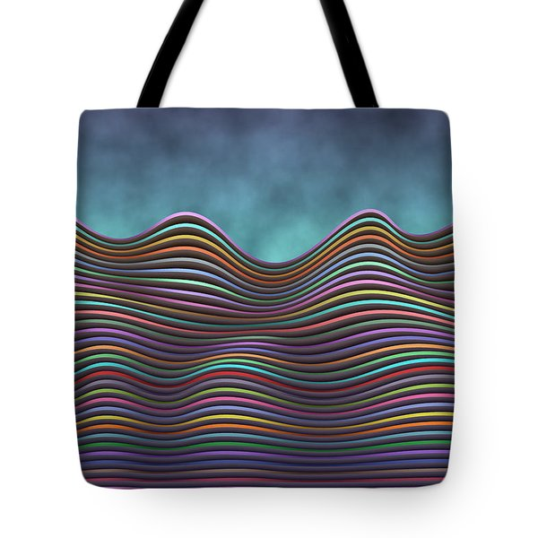 The Rolling Hills Of Subtle Differences Tote Bag