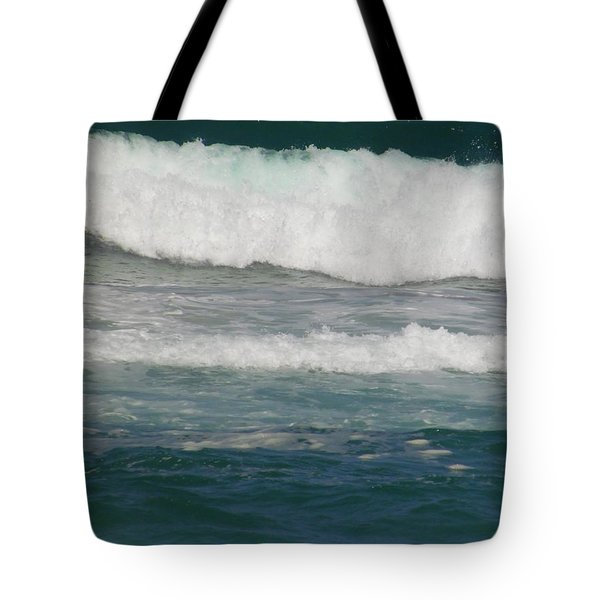 The Rolling Sea Tote Bag