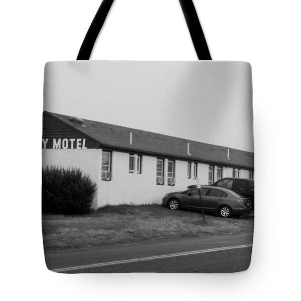 The Rolling Stones' Memory Motel Montauk New York Tote Bag