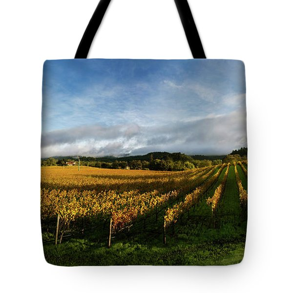 The Rolling Vineyards Of Napa  Tote Bag