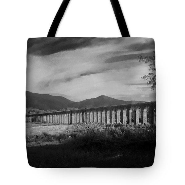 The Roman Aqueducts Tote Bag