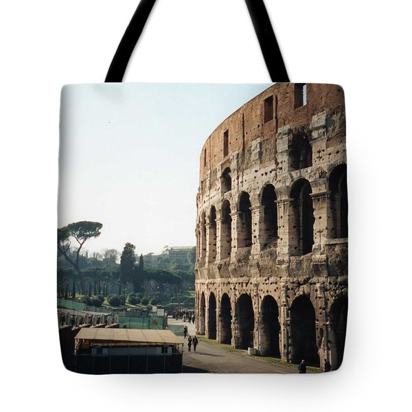 The Roman Colosseum Tote Bag by Marna Edwards Flavell