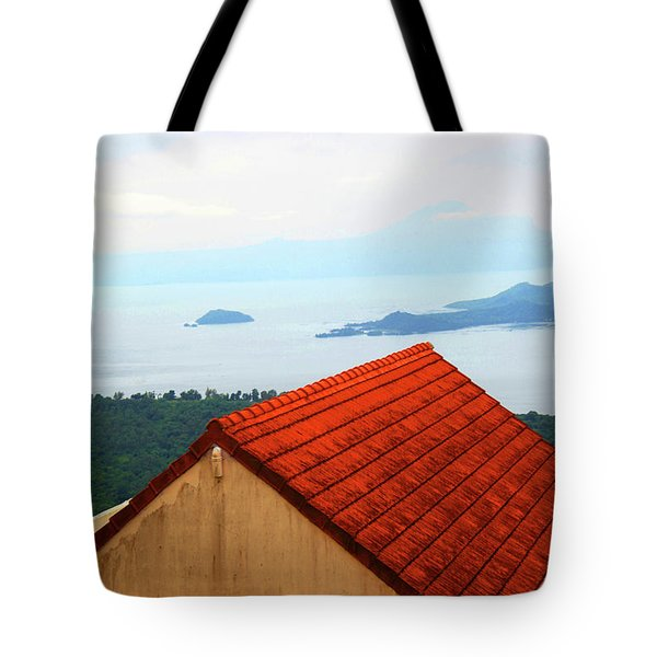 The Roof Be Told Tote Bag