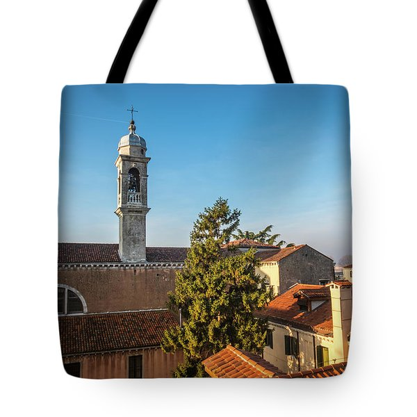 The Roofs Of Venice Tote Bag