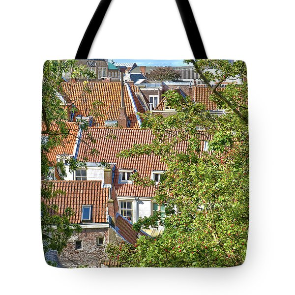 The Rooftops Of Leiden Tote Bag