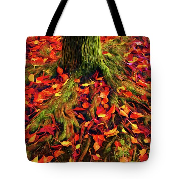 The Root Of Fall Tote Bag