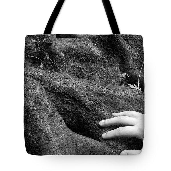 The Roots Tote Bag by Daniel Csoka