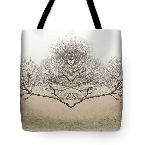 The Rorschach Tree Tote Bag