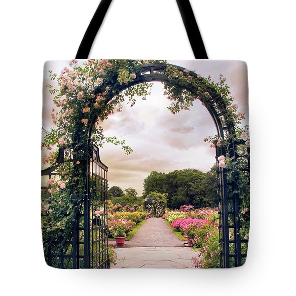 The Rose Allee Tote Bag