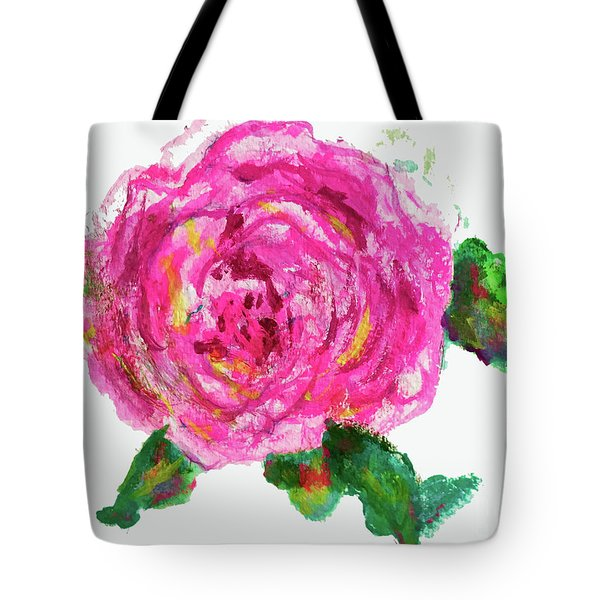 The Rose Tote Bag by Beth Saffer