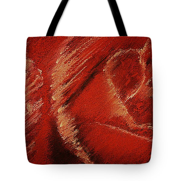 The Rose Tote Bag by David Patterson