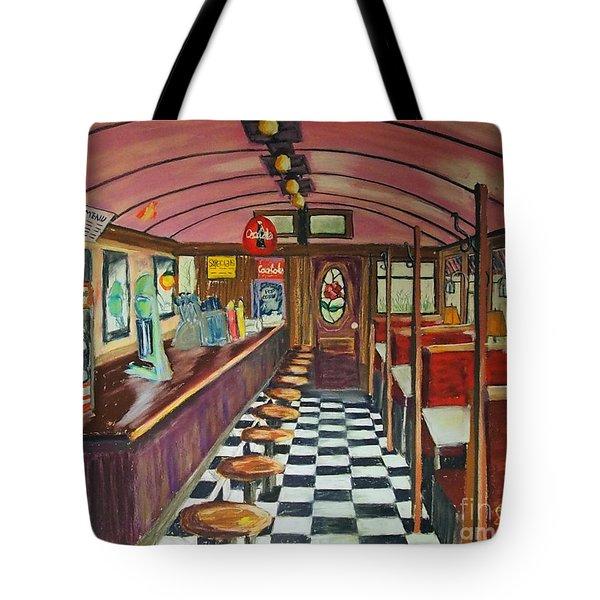 The Rose Diner Tote Bag