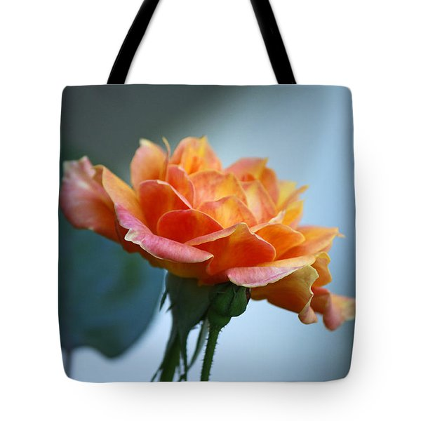 The Rose From Side Tote Bag