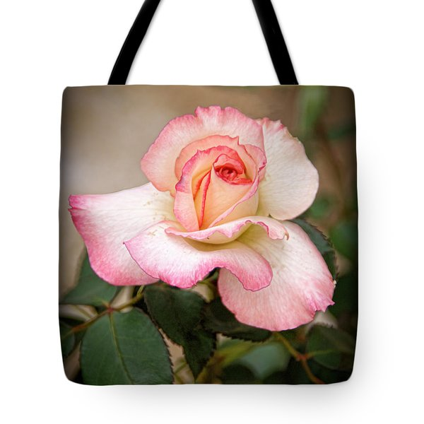 The Rose Tote Bag by Janice Rae Pariza