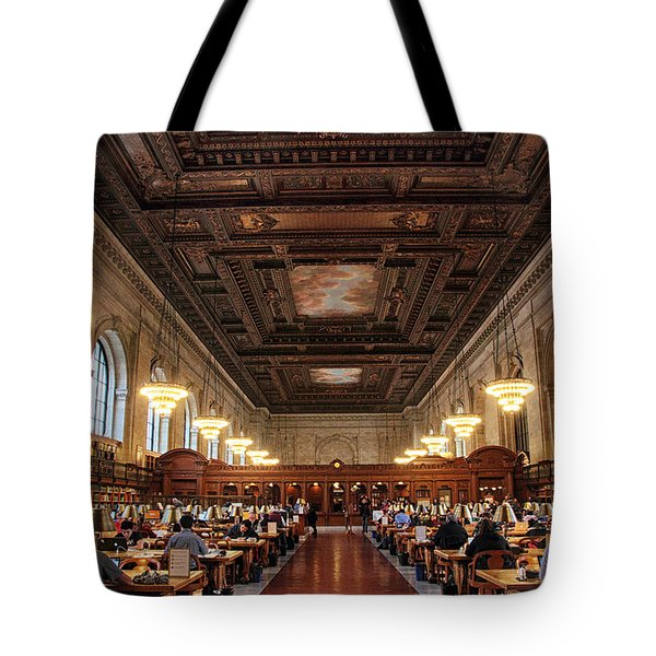 Tote Bag featuring the photograph The Rose Reading Room II by Jessica Jenney