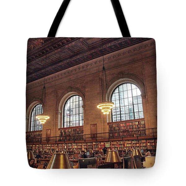Tote Bag featuring the photograph The Rose Reading Room by Jessica Jenney