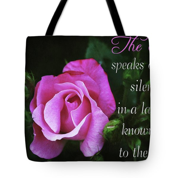 Tote Bag featuring the photograph The Rose by Trina Ansel