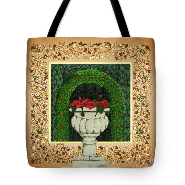 The Roses Urn Tote Bag