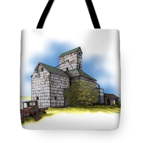 The Ross Elevator Autumn Tote Bag