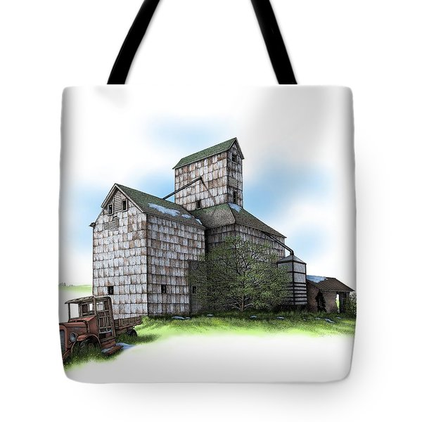 The Ross Elevator Spring Tote Bag