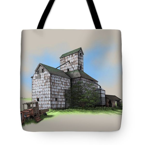 The Ross Elevator Version 5 Tote Bag by Scott Ross