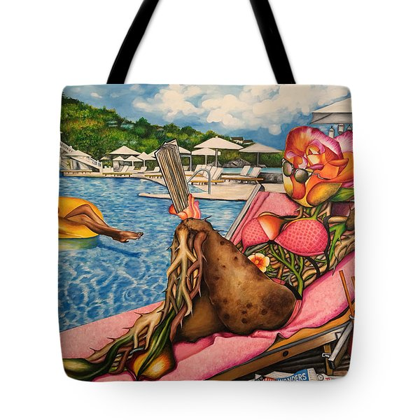 The Rosy Seasons Of Life Tote Bag