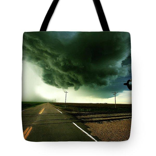 The Rough Road Ahead Tote Bag