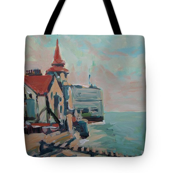 The Round Tower Of Portsmouth Tote Bag