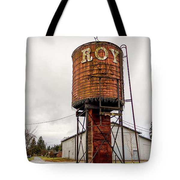The Roy Water Tower Tote Bag