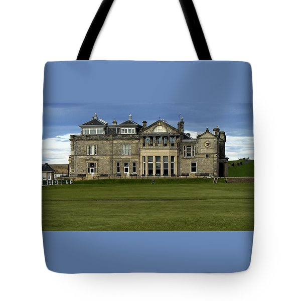 The Royal And Ancient St. Andrews Scotland Tote Bag by Sally Ross