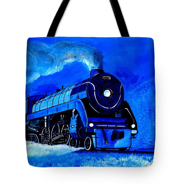 The Royal Blue Express Tote Bag