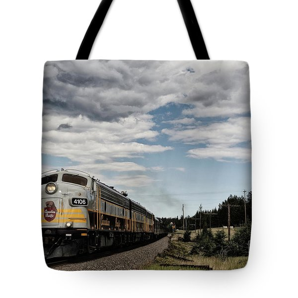 The Royal Canadian Pacific  Tote Bag