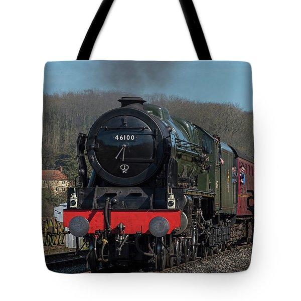The Royal Scot 1 Tote Bag by David  Hollingworth